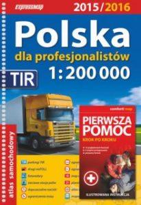 Polska Atlas samochodowy 206x300 - Polska Atlas samochodowy