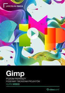 Gimp 210x300 - Gimp. Kurs video. Poziom pierwszy. Podstawy tworzenia projektów