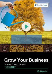 Grow Your Business 210x300 - Grow Your Business. Powiększ swój biznes. Kurs video