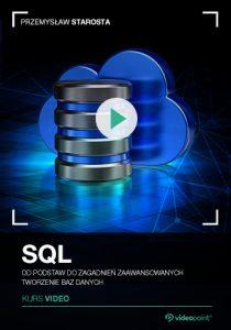 SQL 210x300 - SQL. Kurs video. Od podstaw do zagadnień zaawansowanych. Tworzenie baz danych