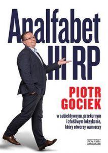 Analfabet III RP 213x300 - Analfabet III RP Piotr Gociek