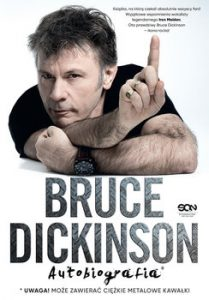 Bruce Dickinson 209x300 - Bruce Dickinson. Autobiografia