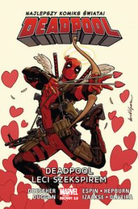 Deadpool leci Szekspirem 198x300 - Deadpool leci Szekspirem Deadpool Tom 7	Doescher Ian Duggan Gerry