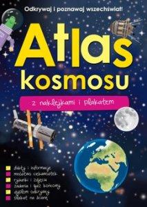 Atlas kosmosu z naklejkami i plakatem 213x300 - Atlas kosmosu z naklejkami i plakatem