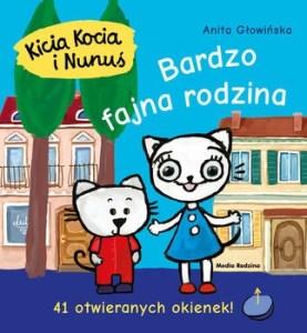 Bardzo fajna rodzina 277x300 - Kicia Kocia i Nunuś Bardzo fajna rodzina Anita Głowińska