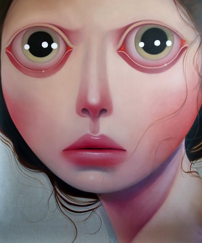 On second thought 62 x 52 inches, oil on linen, 2015