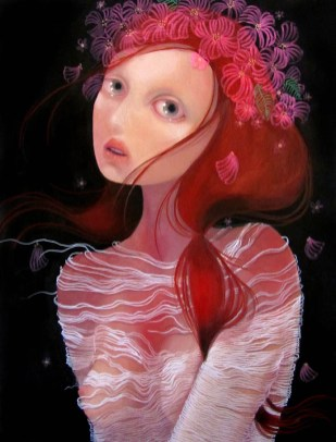 The oppressive onslaught of spring 18 x 24 inches, oil on wood, 2011