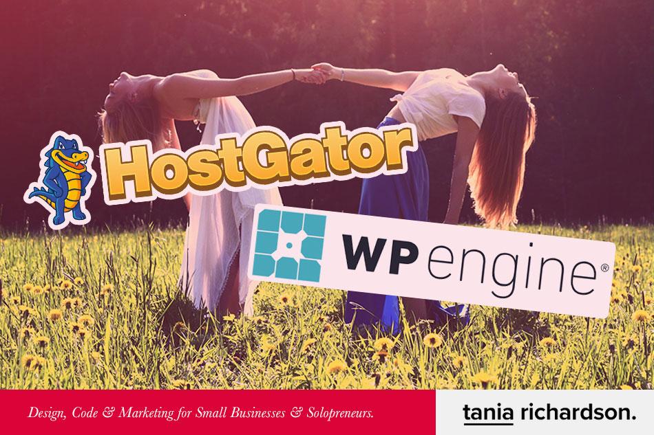 Hostgator vs Wpengine.