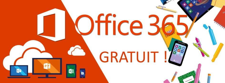 microsoft office 365 gratuit