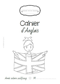 Page de garde 2018/2019 - Cahier d'Anglais