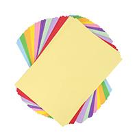 Du papier couleur (épais ou non)