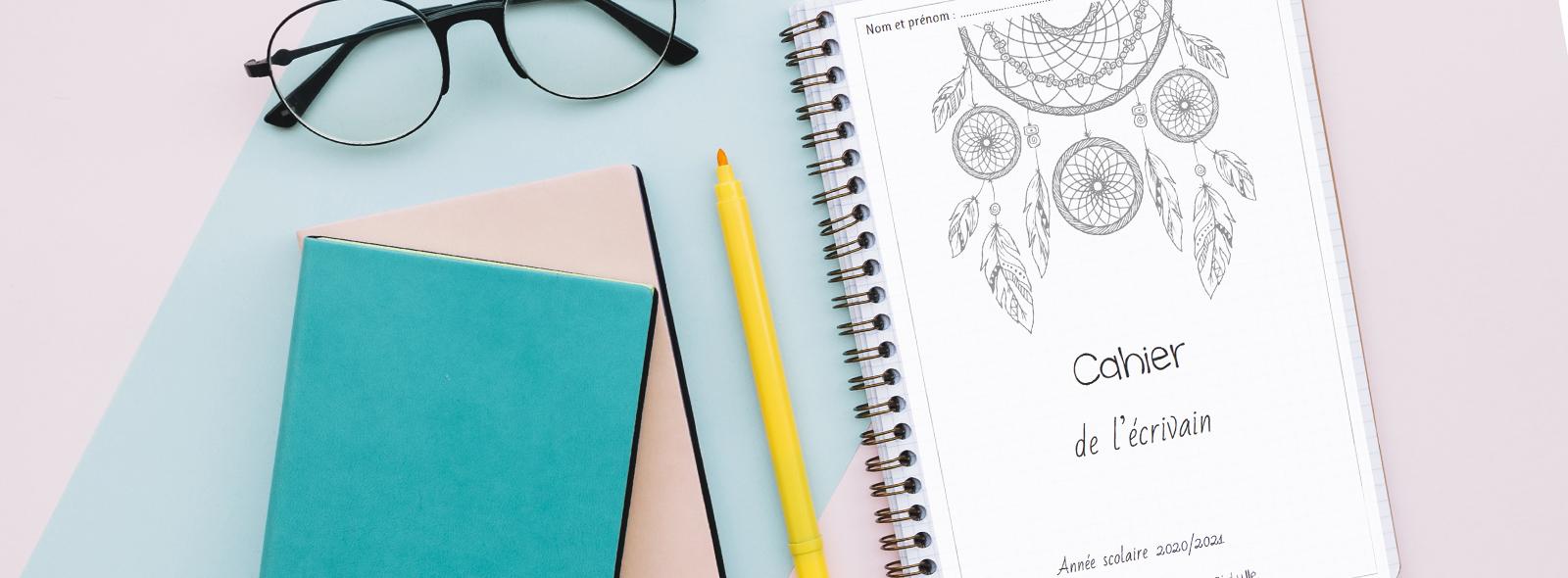 Calendrier Décriture Ce1 2022 2023 Des pages de gardes à colorier pour cahiers et classeurs   La