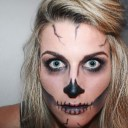 Halloween Make-up - Skull Face