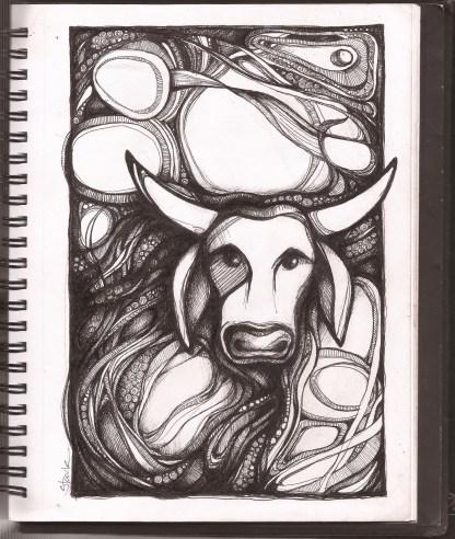 sketch bull 2 book