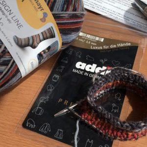 Socken stricken mit dem 'Sockenwunder' von addi