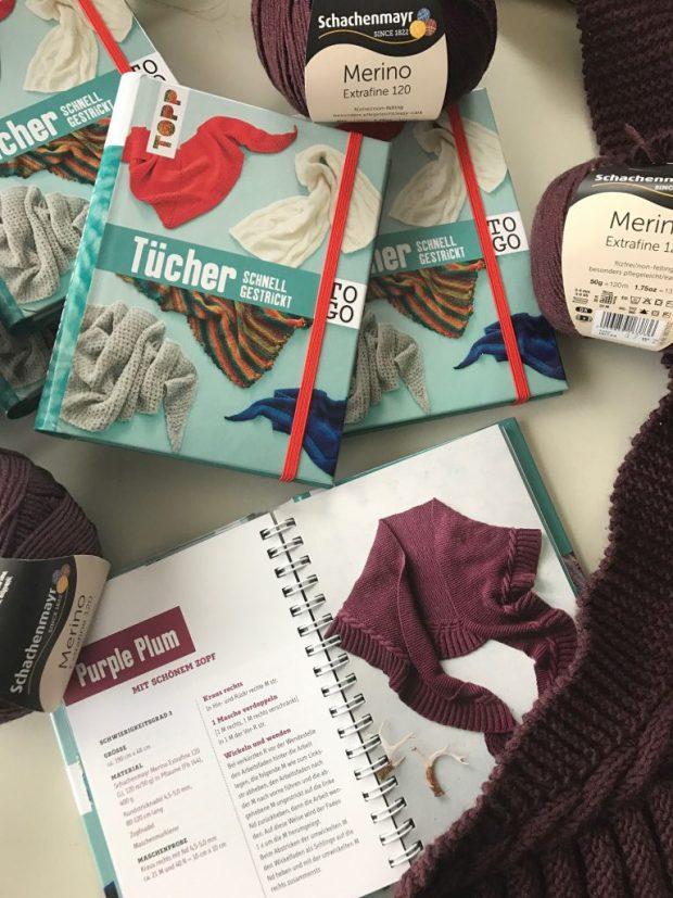 """""""Tücher to go"""", erschienen im frechverlag. ISBN 978-37724-6471-3 Foto: Frechverlag, Michael Ruder"""