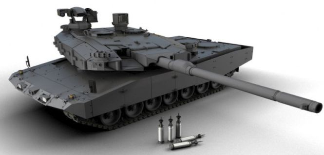 New German 130mm Gun To Be Introduced In June Tank And