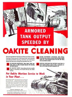 Oakite cleaning