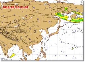 台風14号ヨーロッパ
