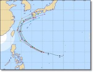 台風16号2016最新