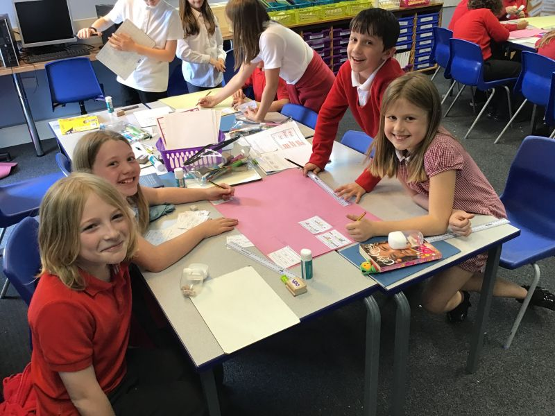 This week, we've been learning how to add larger numbers…