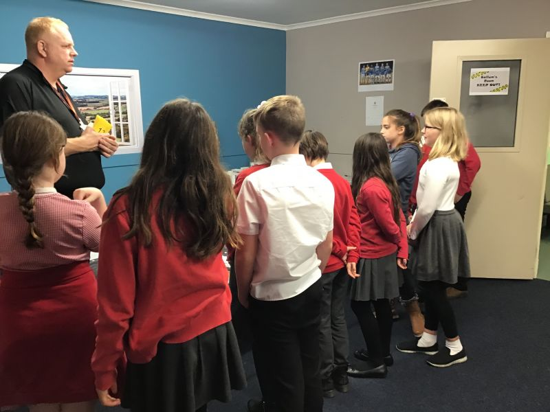 Butterfly Lions learn how to keep safe at Crucial Crew…
