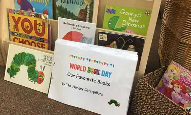 The Hungry Caterpillars Celebrate World Book Day!