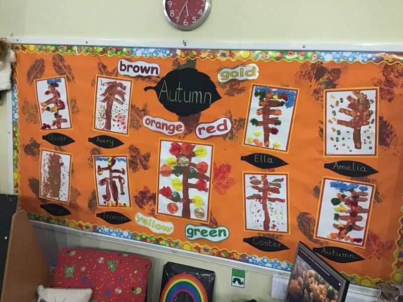 More Autumnal Learning in Nursery!