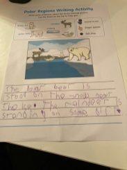 Arctic information writing