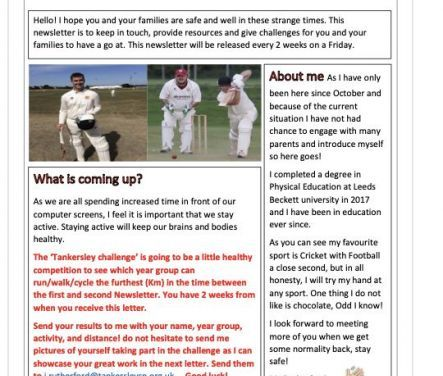 PE Newsletter 5 Feb 2021