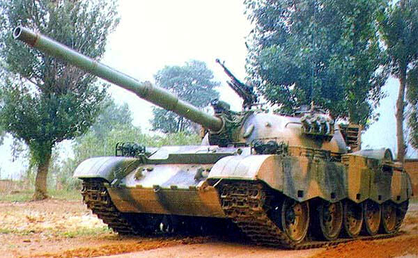 The Chinese Type 69-III aka Type 79 Tank