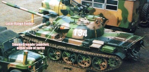 The Type 62-I Tank