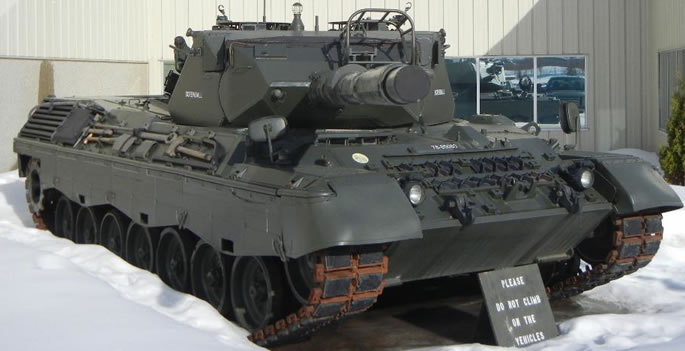The Canadian Leopard C1 Tank