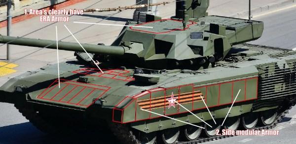 T-14 Armata Tank armour