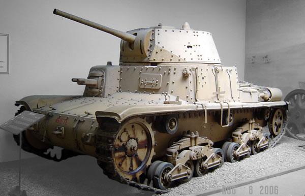 The Carro Armato M15/42 Tank