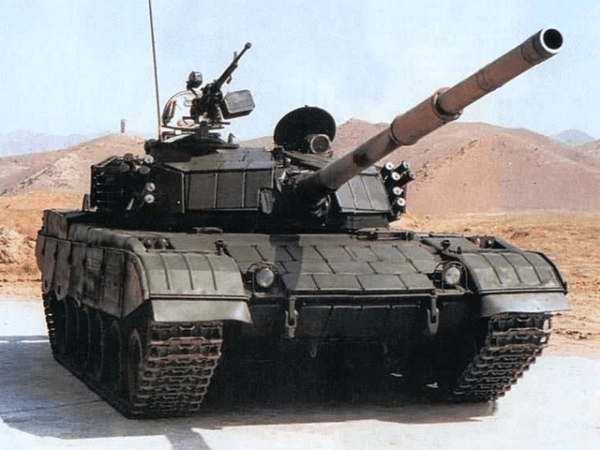 The Chinese Type 85-III Tank with ERA