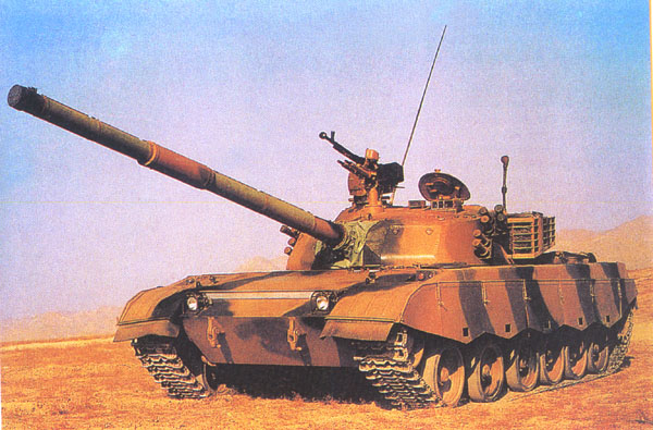The Chinese Type 85-III Tank