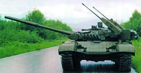 The T-72M2 Moderna Tank