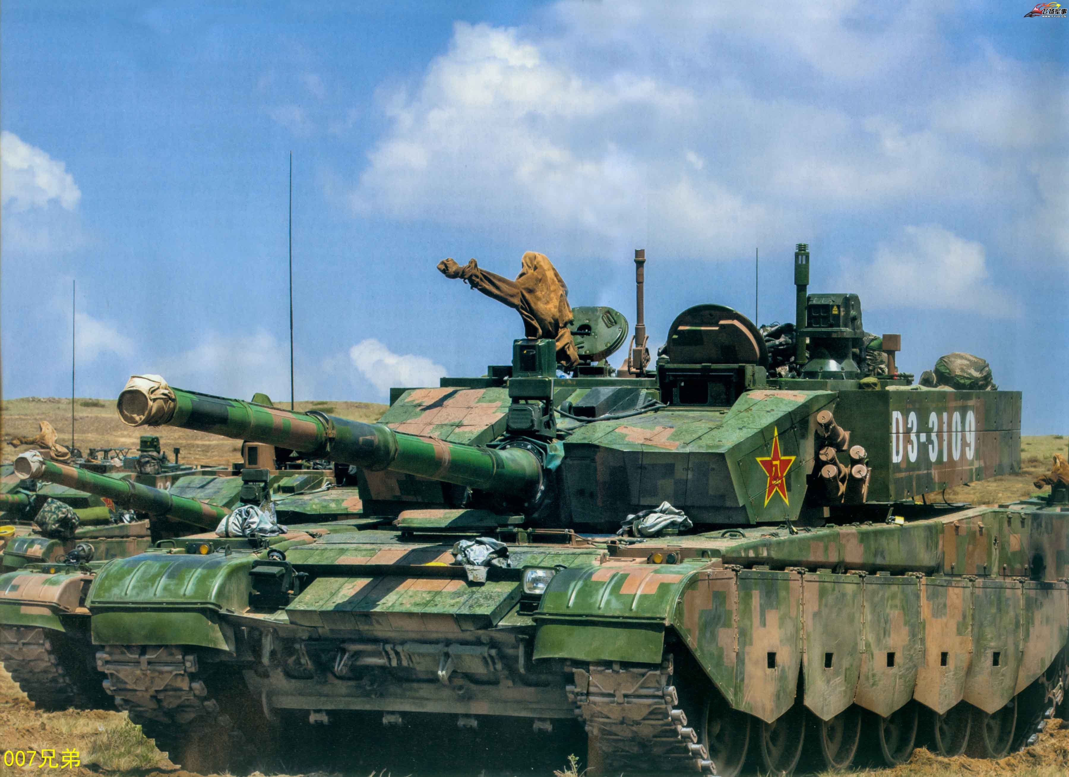 The Type 99A2 Main Battle Tank