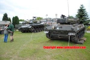 M18 Hellcat Tank Destroyer and Walker Bulldog