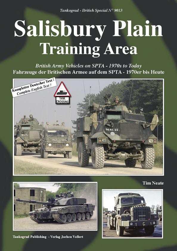 SALISBURY PLAIN TRAINING AREA British Army Vehicles On