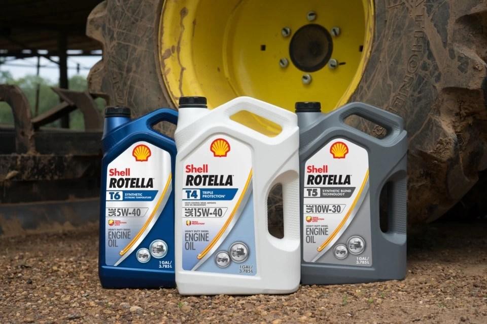 Shell Rotella FA-4 & CK-4 Oils