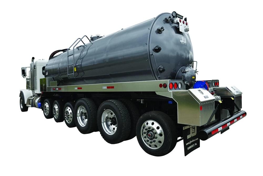 JJ 130 bbl Vacuum Trucks