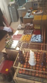 Amazing chocolates--in all shapes and sizes (and wonderful flavors)!