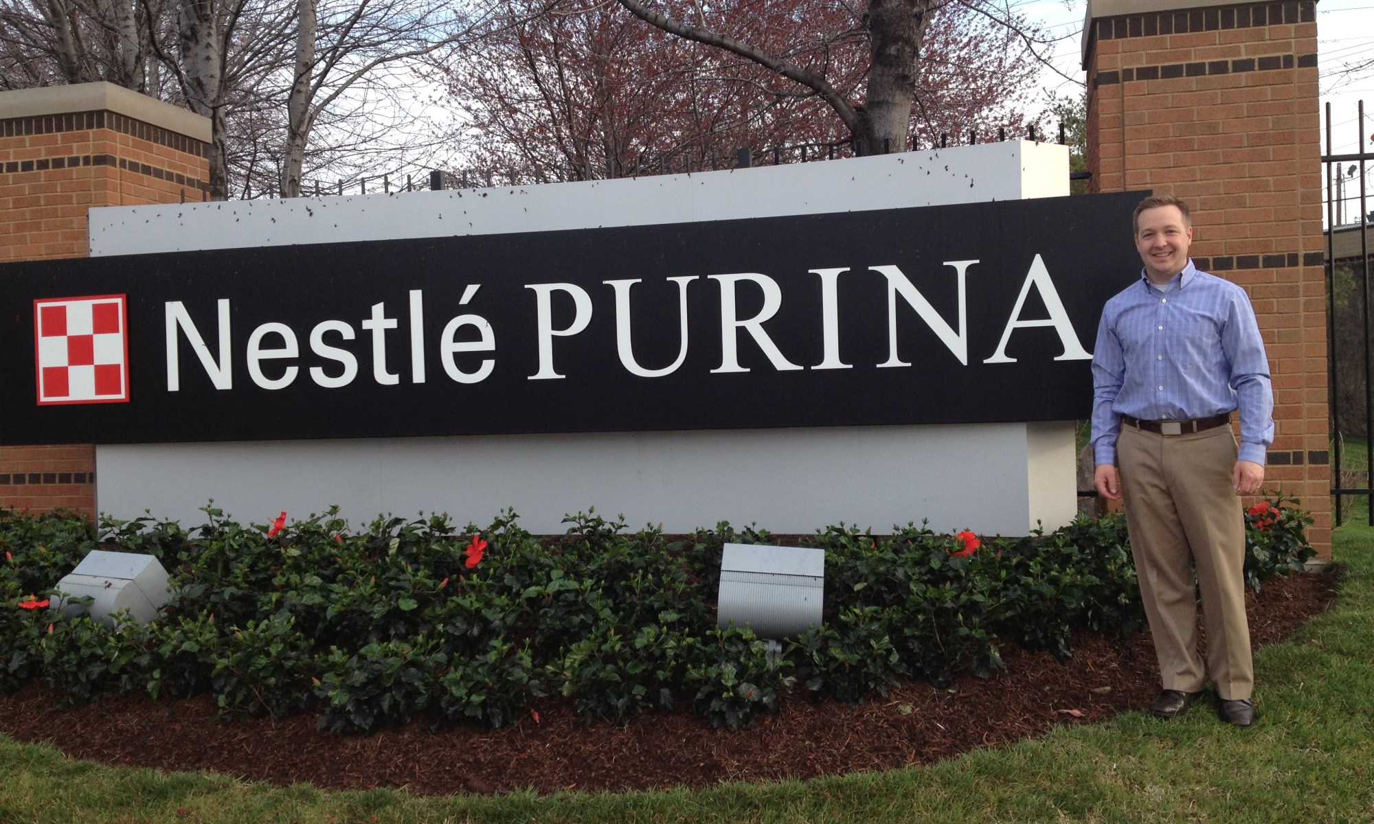 Tanner Hobin at Nestle Purina