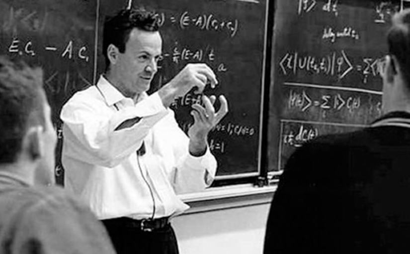 The Feynman Work Principle: Seek Enjoyment, Do Things That Don't Matter