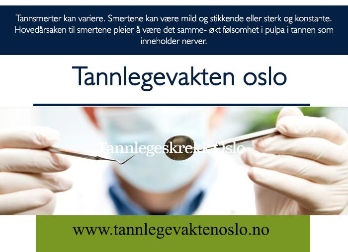 Tannlege Bjørvika Sørenga Gamle Oslo