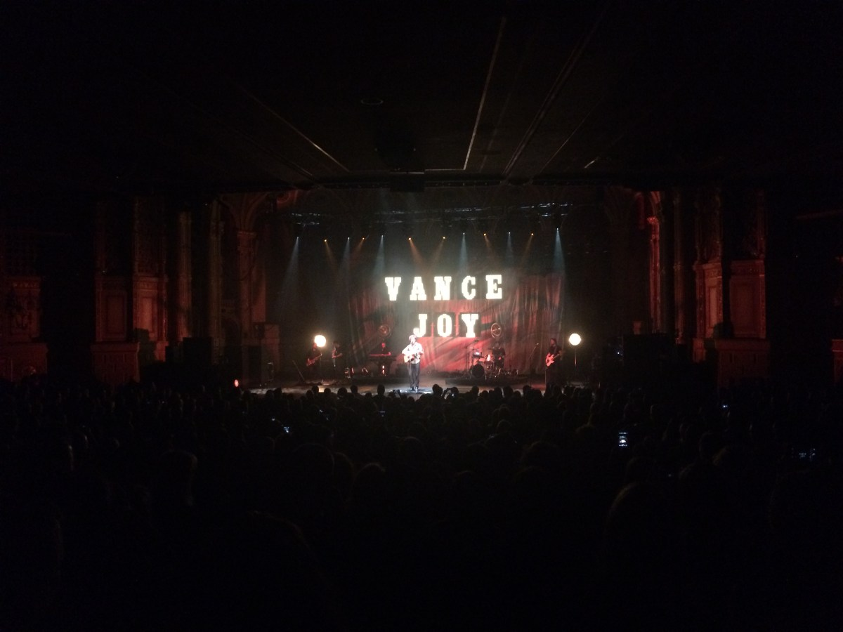 Vance Joy at the Orpheum