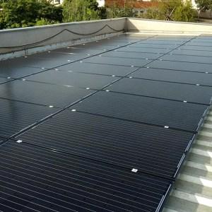 04 - Instalação dos módulos fotovoltaicos - 80 x 270Wp Sun Edison