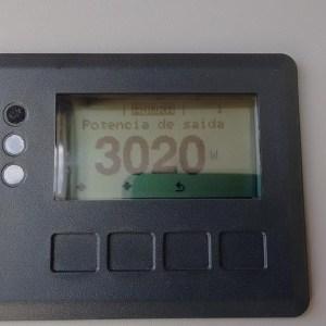 05 - Inversor Fronius GALVO 3.0, de 3,0kW, em funcionamento